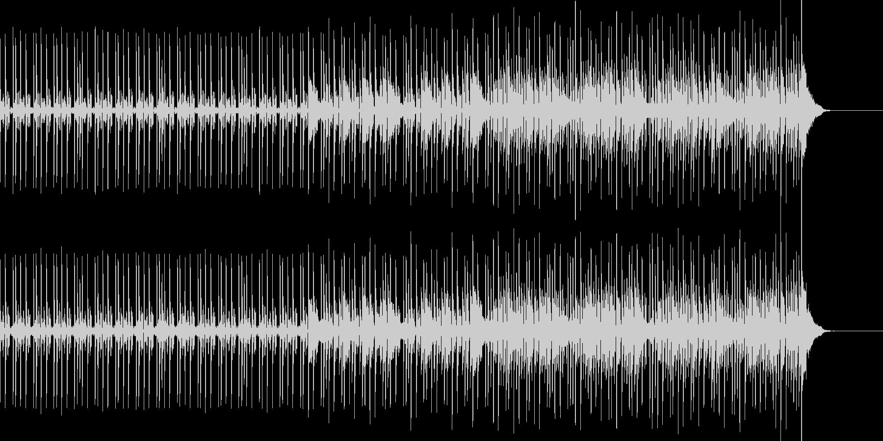 弾むビートとシーケンスの未再生の波形