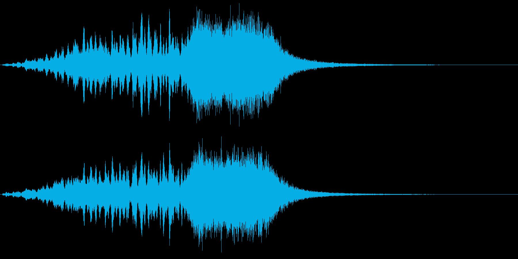 サウンドロゴ  キラキラ グォー!の再生済みの波形