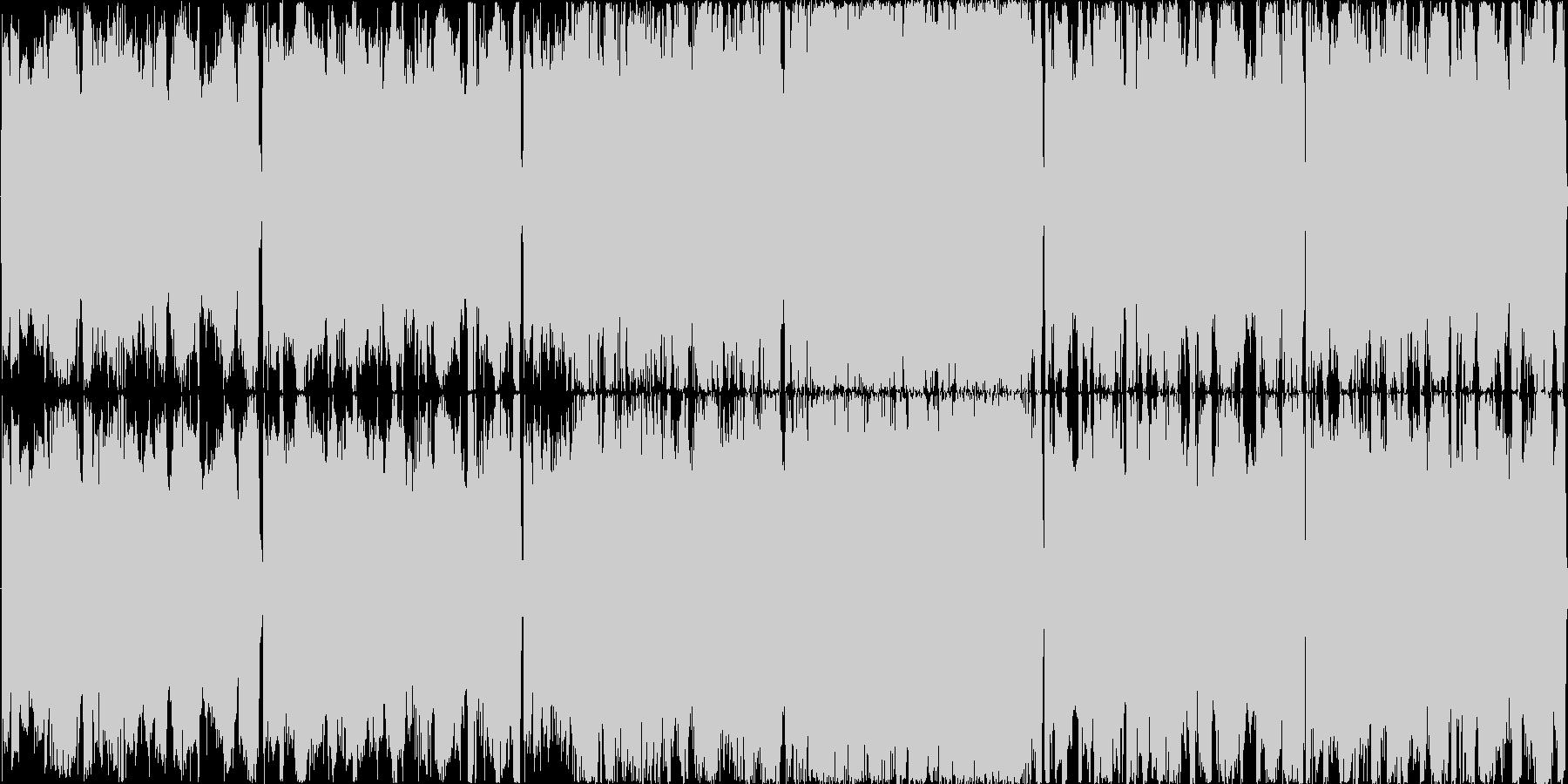 【サイバーロック/オープニング】の未再生の波形