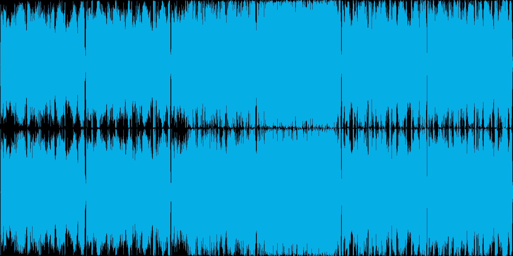 【サイバーロック/オープニング】の再生済みの波形