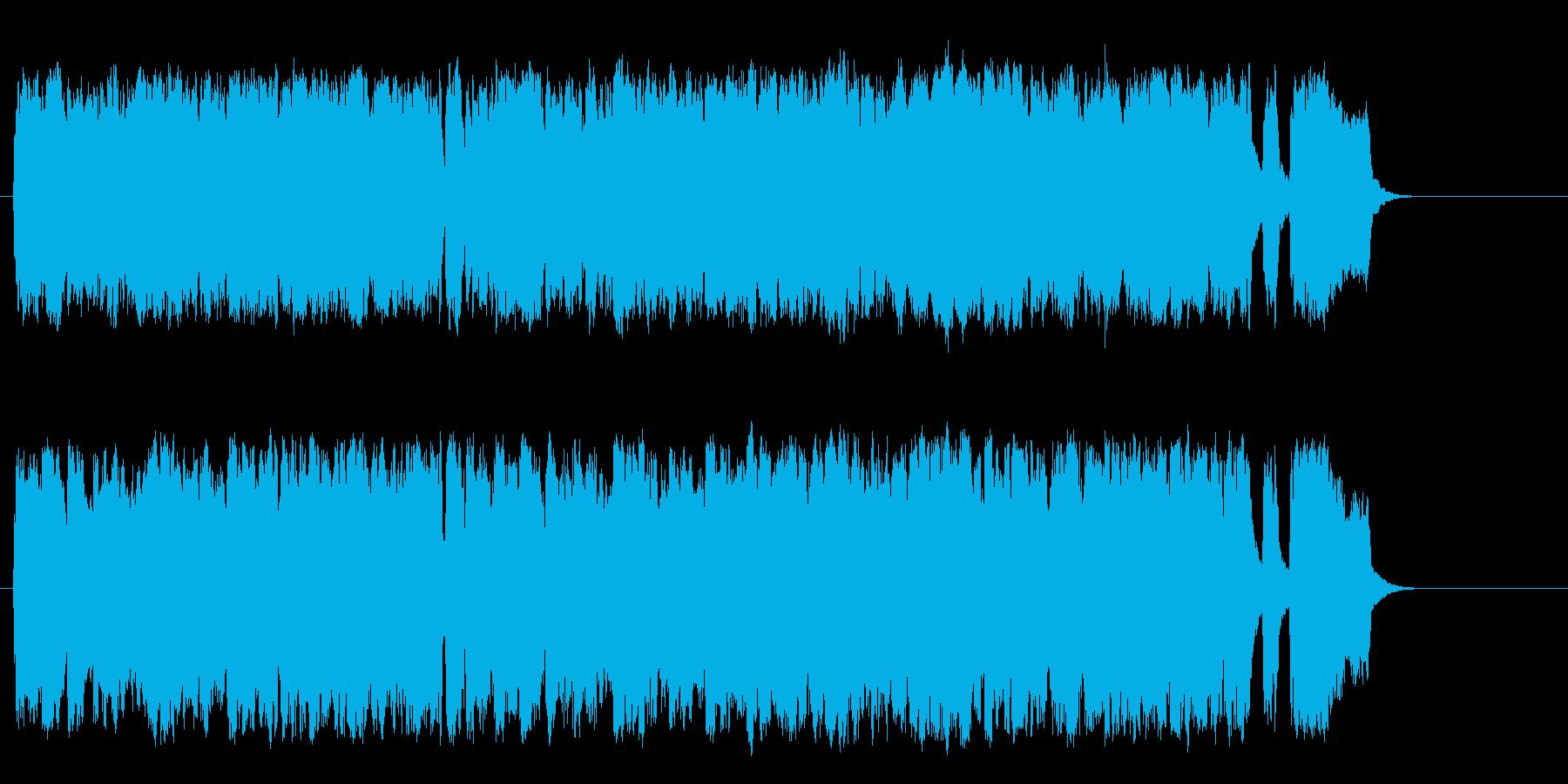 穏やかなクラシック・オーケストラの再生済みの波形