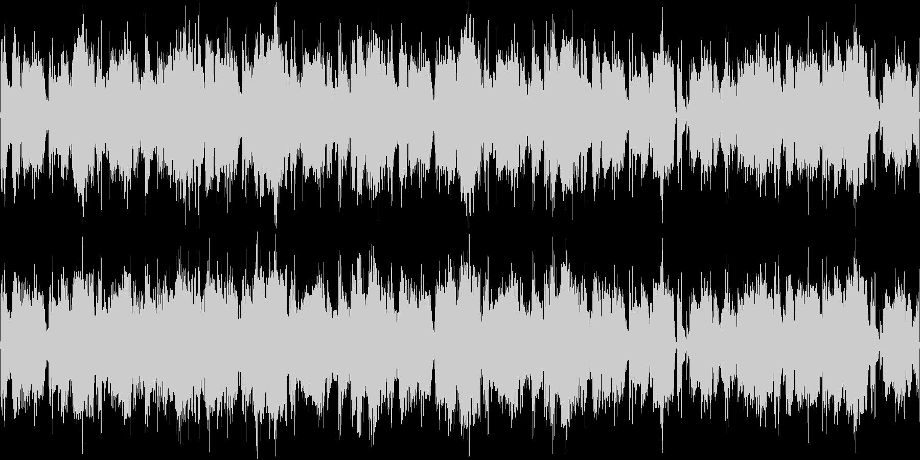 映像作品用BGMの未再生の波形