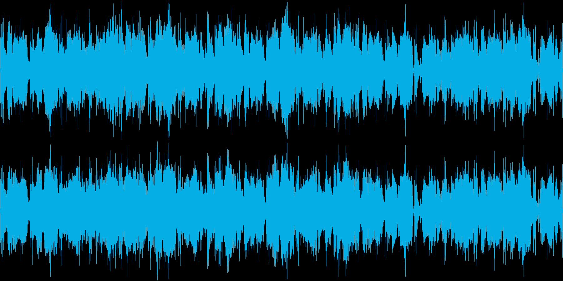 映像作品用BGMの再生済みの波形