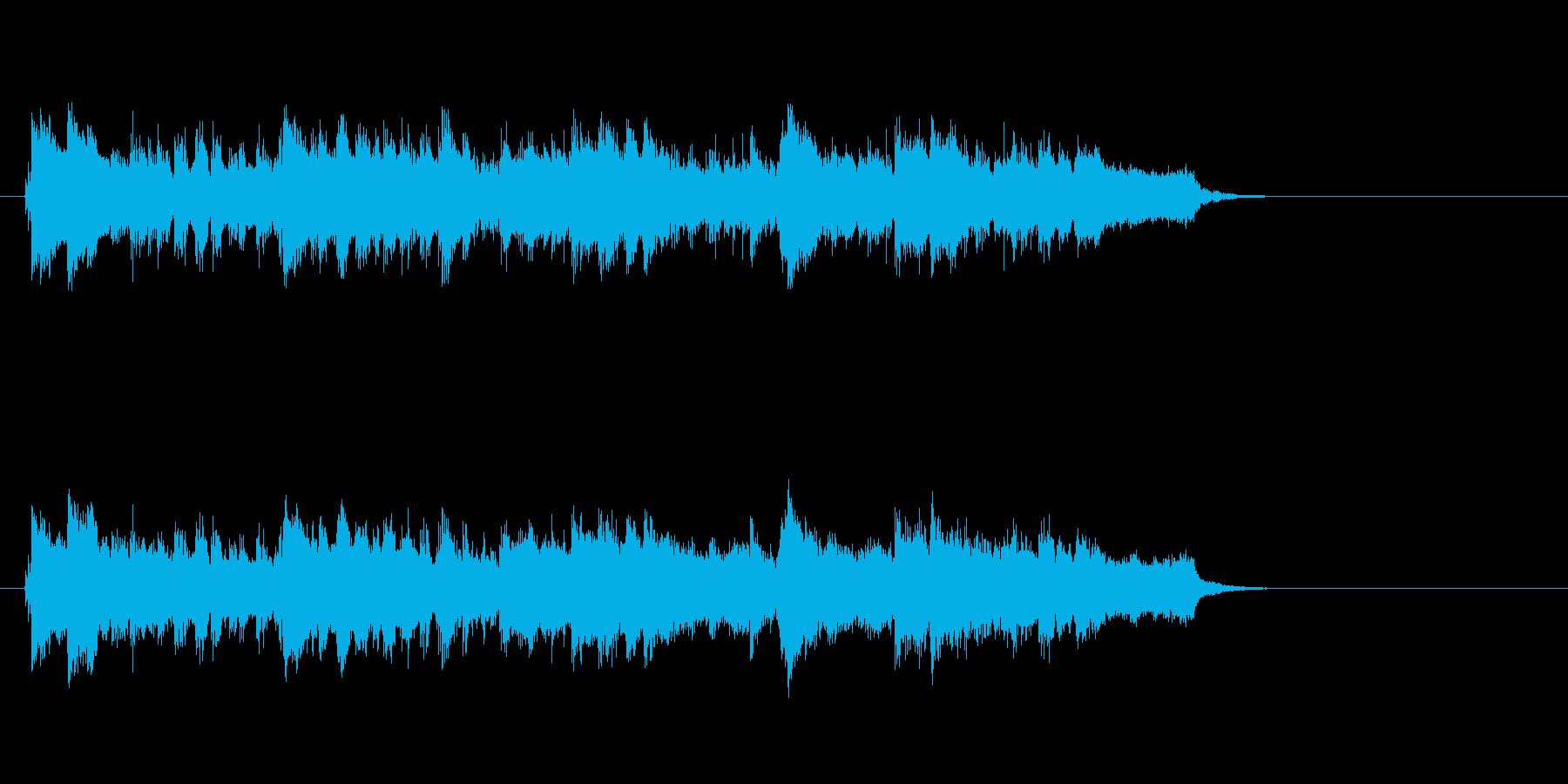 整合感満喫ロッカ・バラード風の再生済みの波形