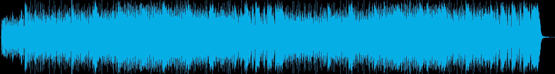 手品やショー風シンセサイザーサウンドの再生済みの波形