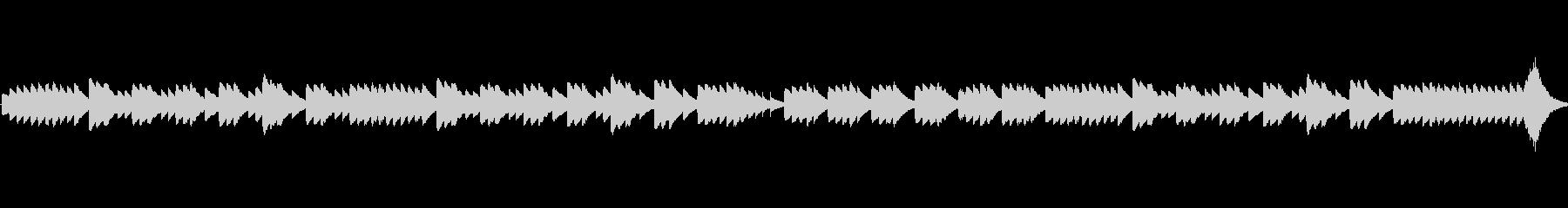 「浜辺の歌」のオルゴールアレンジの未再生の波形