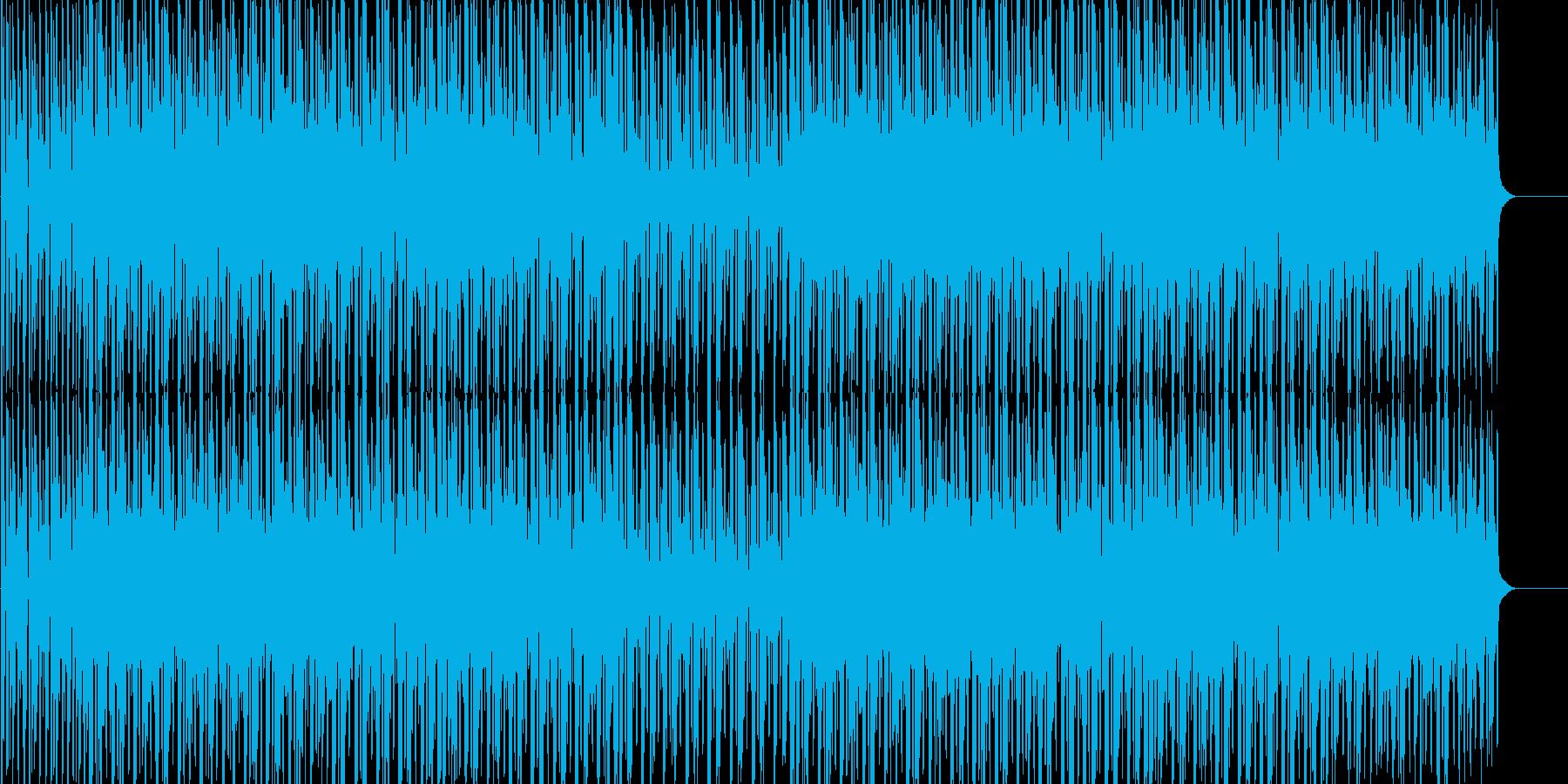 楽しい 跳ねる 前向き 出会い ドキドキの再生済みの波形