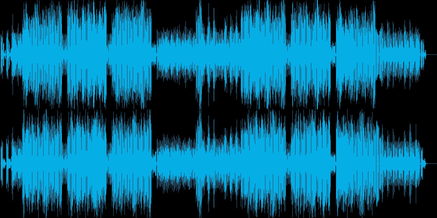 構造物の説明動画のBGMなどに最適な曲の再生済みの波形