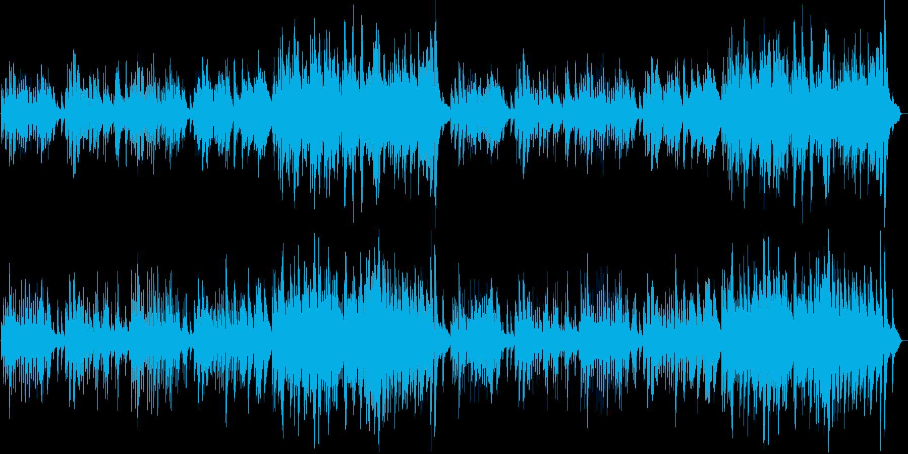 【CM、BGM】ピアノ曲「懐かしい夢」の再生済みの波形