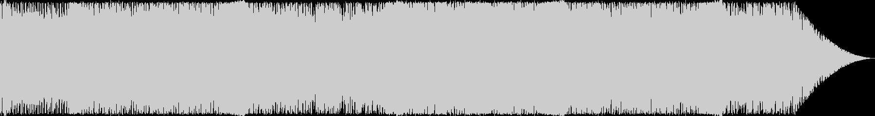 戦闘向けのサイバーなトランスの未再生の波形
