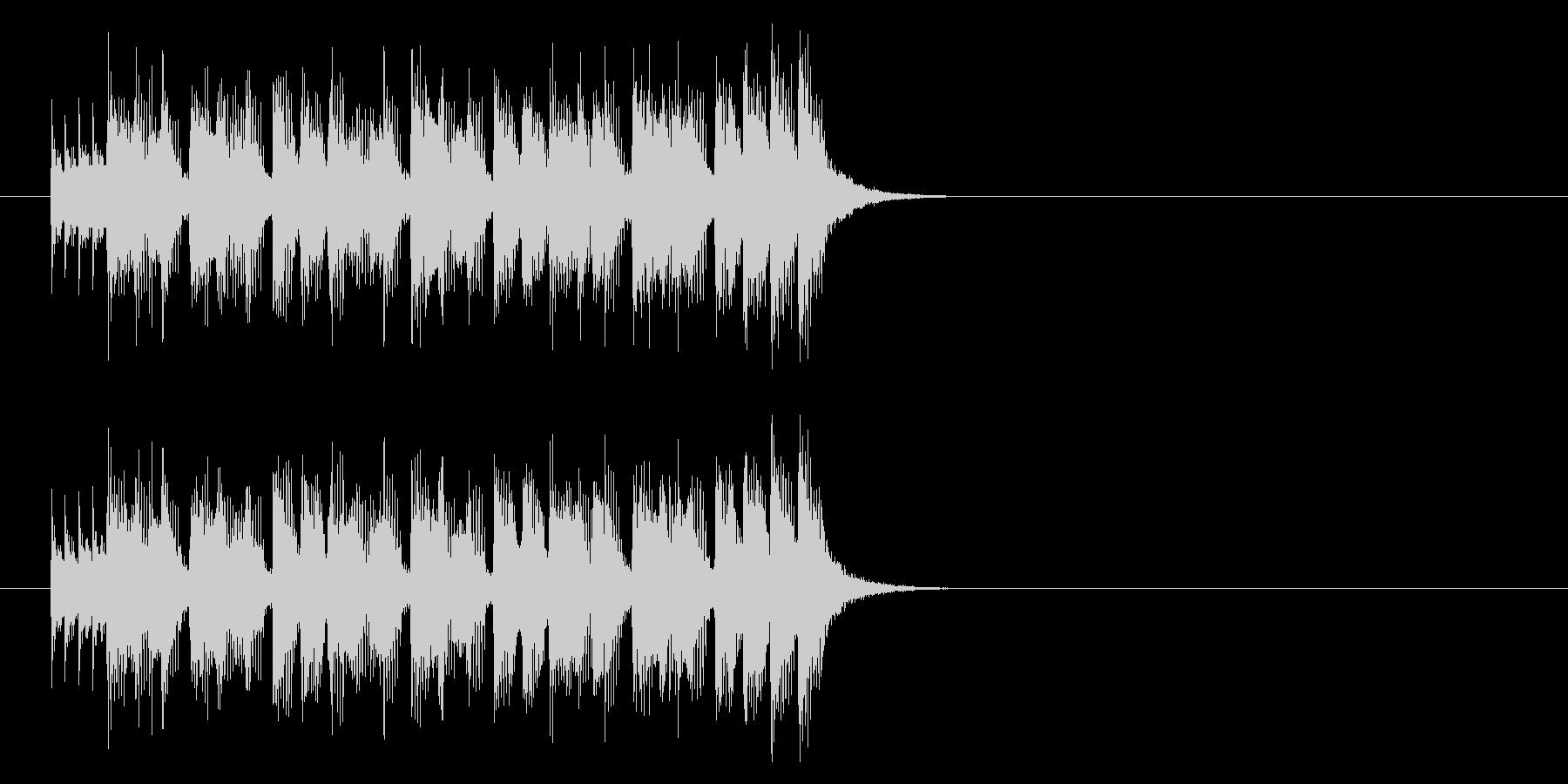 ジングル(ピュア・ポップス)の未再生の波形