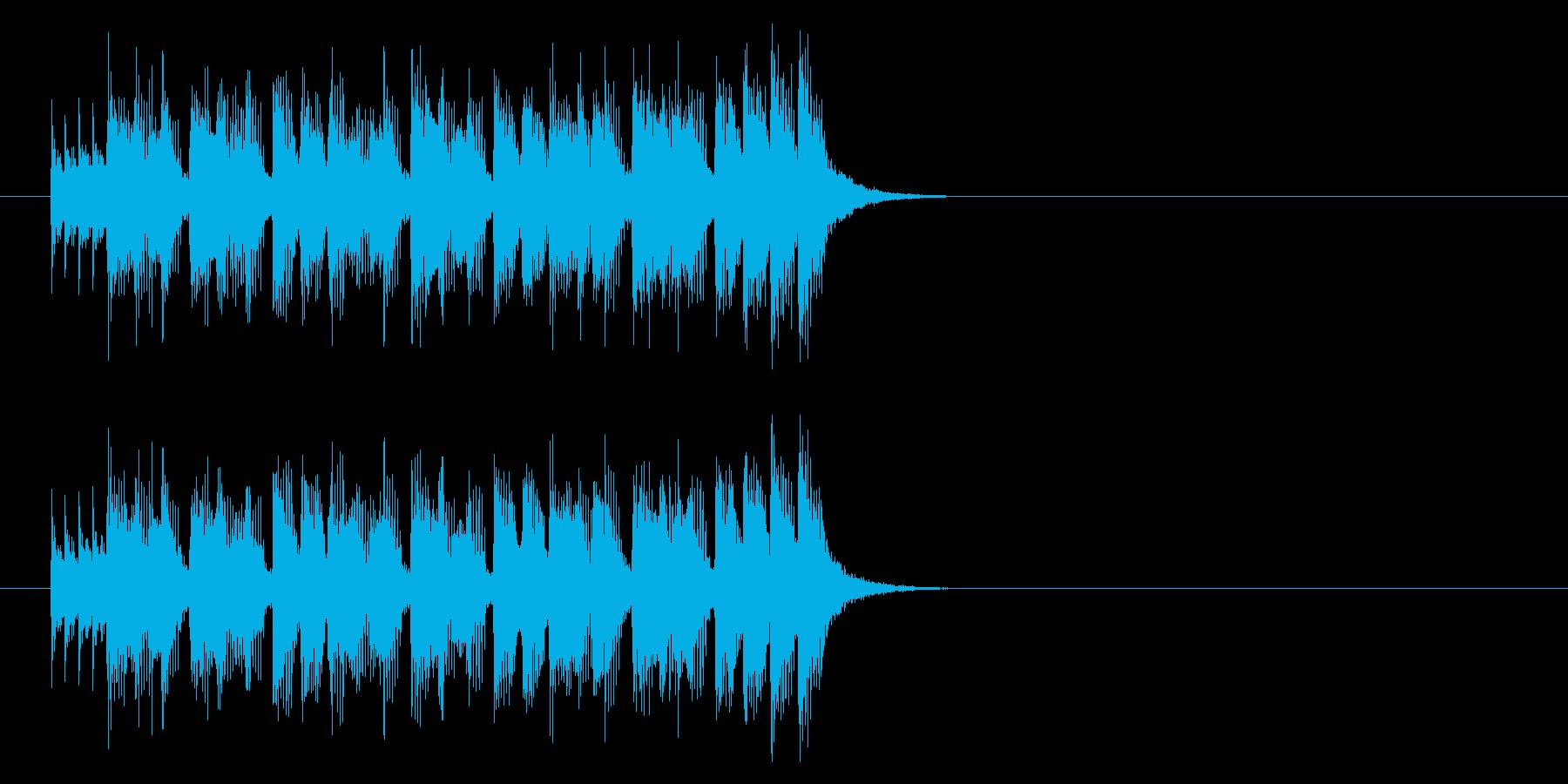 ジングル(ピュア・ポップス)の再生済みの波形