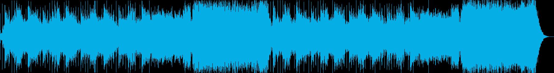 ダークで神聖なアンビエントシンセの再生済みの波形