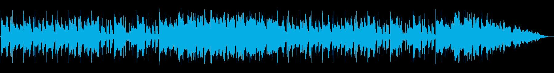 陽気なアイリッシュの再生済みの波形