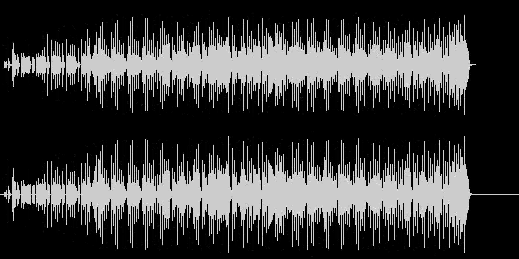 妖しい夜を演出するかわいいテクノ/ポップの未再生の波形