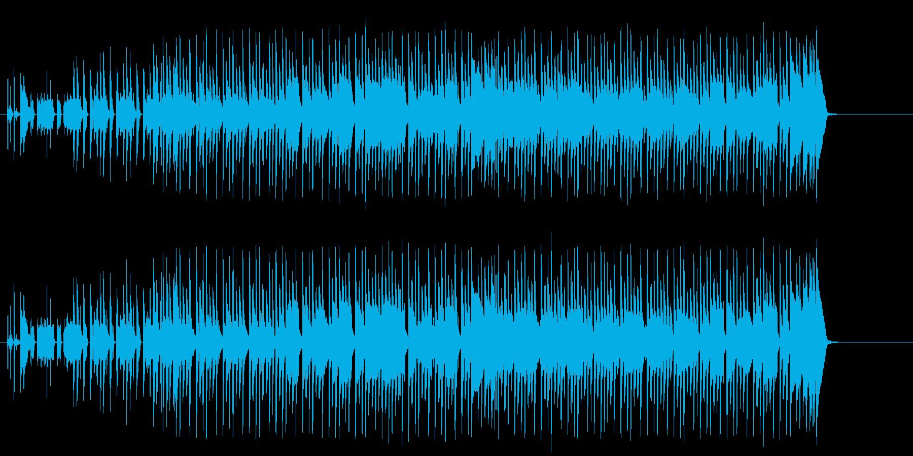 妖しい夜を演出するかわいいテクノ/ポップの再生済みの波形