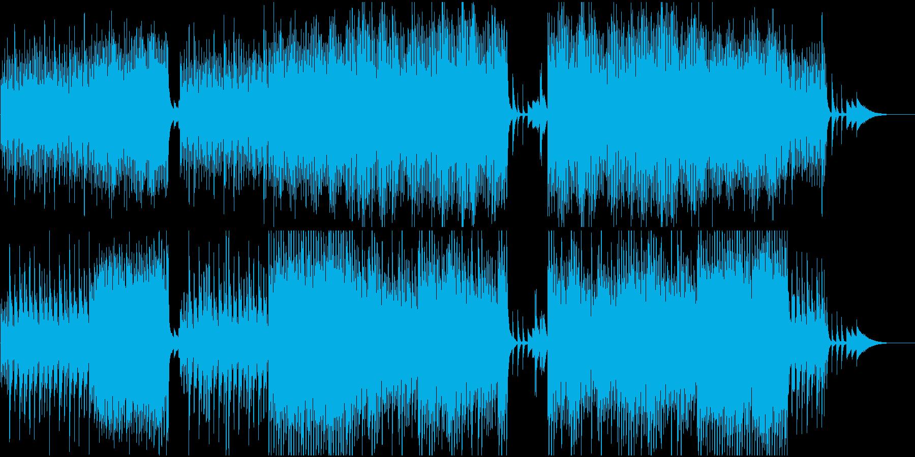 映像BGM ディズニー風ファンタジーの再生済みの波形