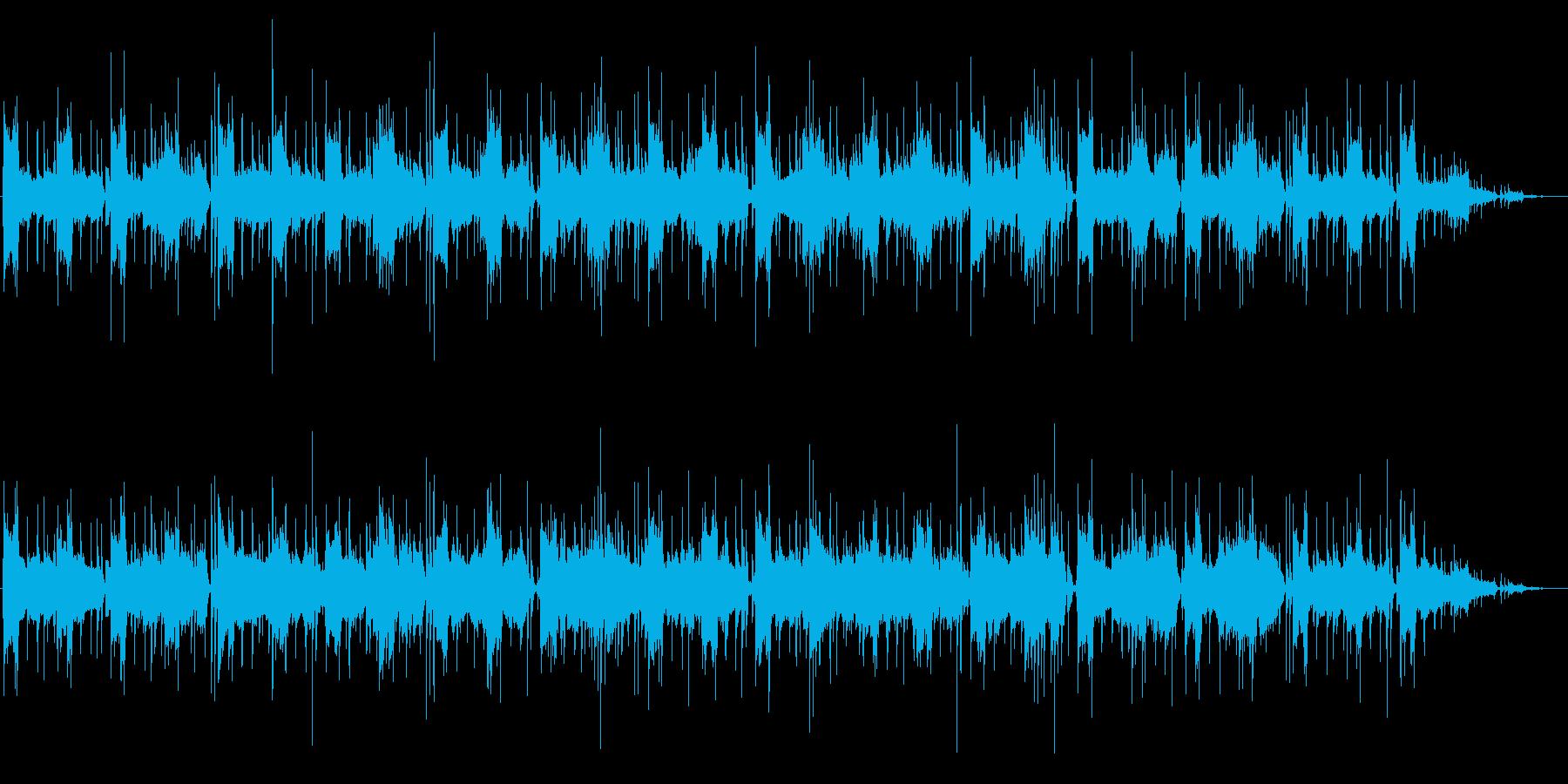 リラックスおしゃれなムード(バンド形式)の再生済みの波形