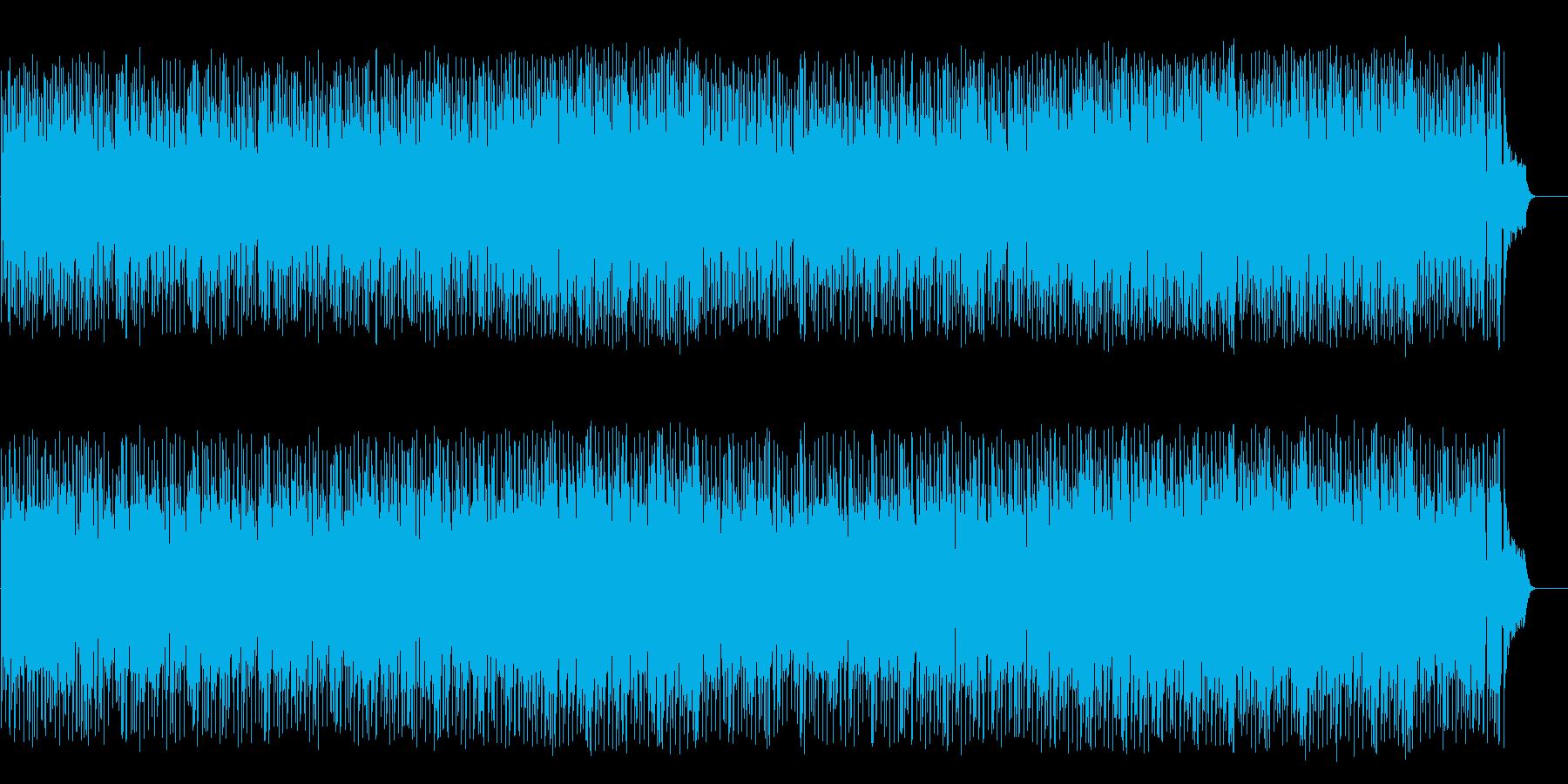 軽やかなフュージョン(フルサイズ)の再生済みの波形