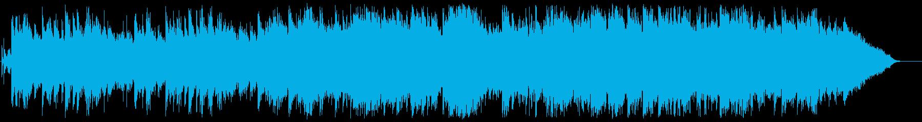 切ないドラマチックなBGMの再生済みの波形