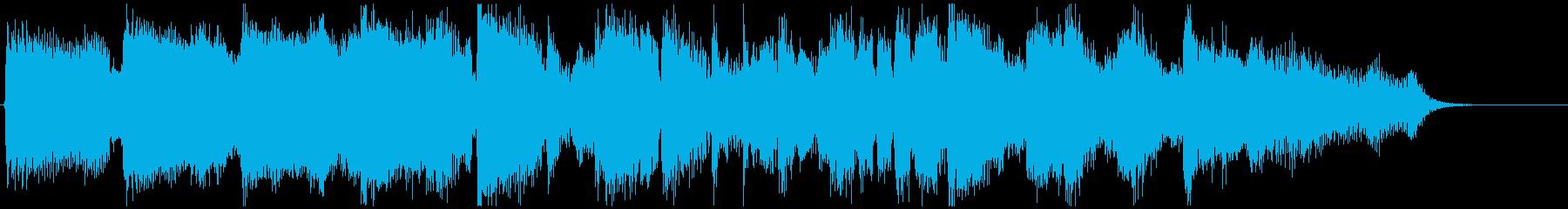 CM向け15秒ジャズ■優雅で上品なワルツの再生済みの波形