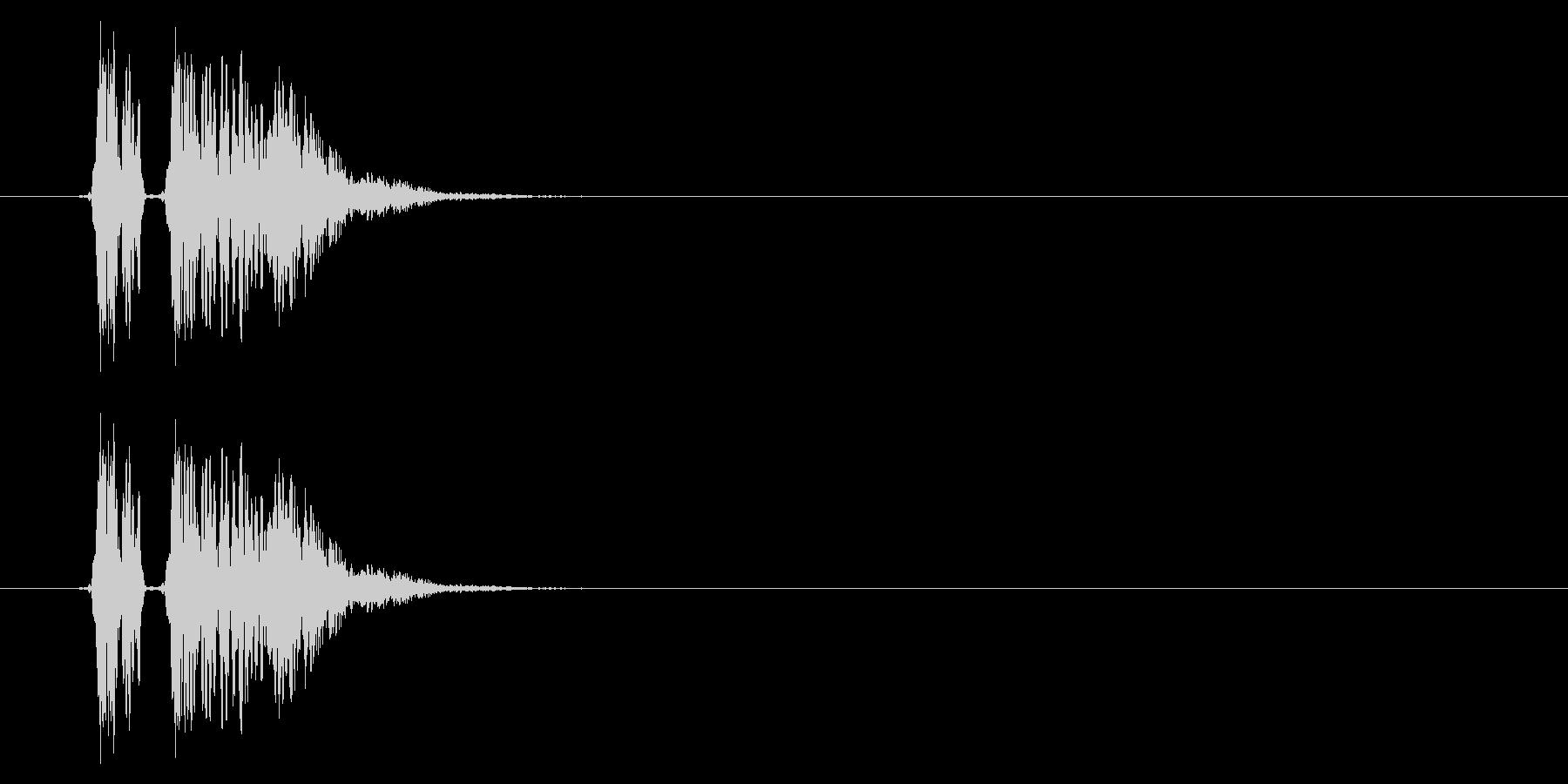 SNES 格闘05-04(ヒット)の未再生の波形