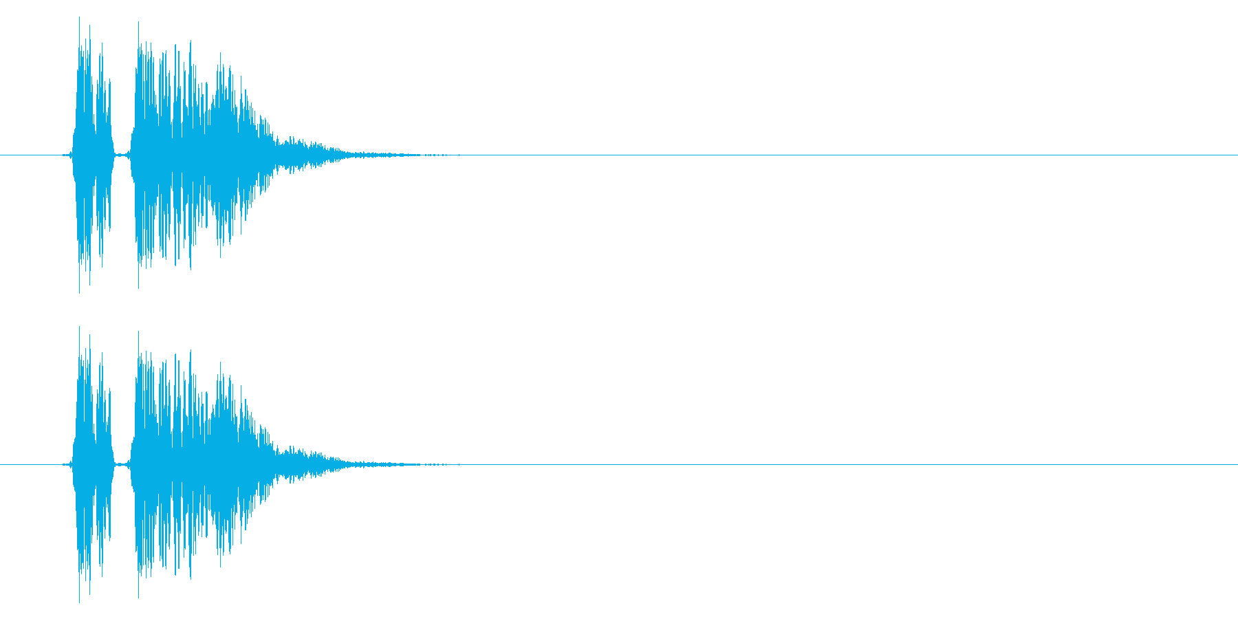SNES 格闘05-04(ヒット)の再生済みの波形