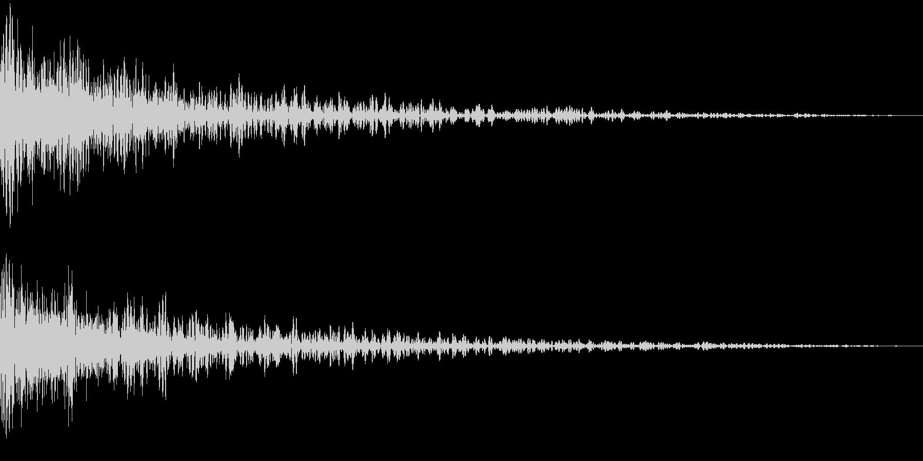 バオーン(ドーン)の未再生の波形