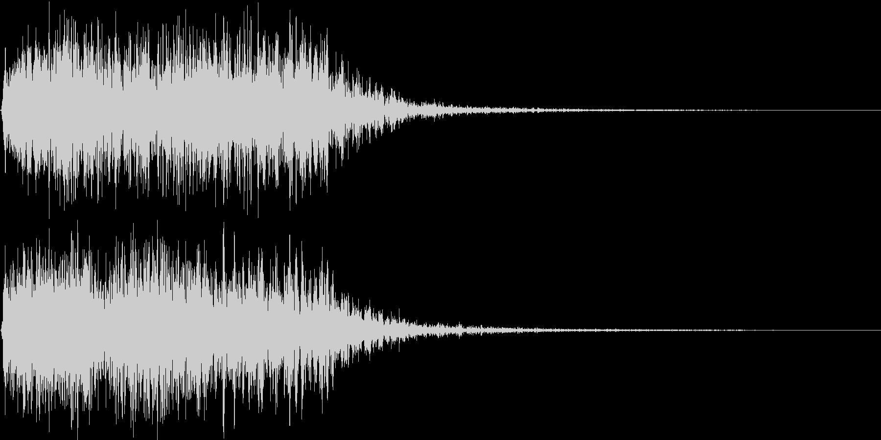 吹きすさぶ風・竜巻系の魔法(高レベル)2の未再生の波形
