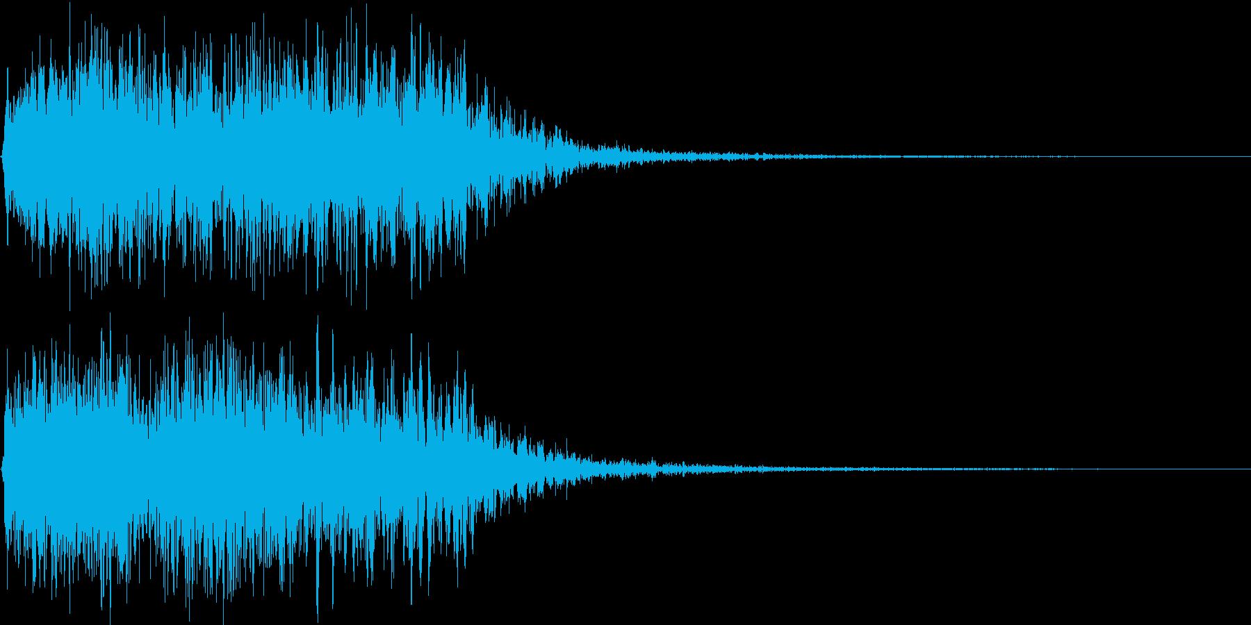 吹きすさぶ風・竜巻系の魔法(高レベル)2の再生済みの波形