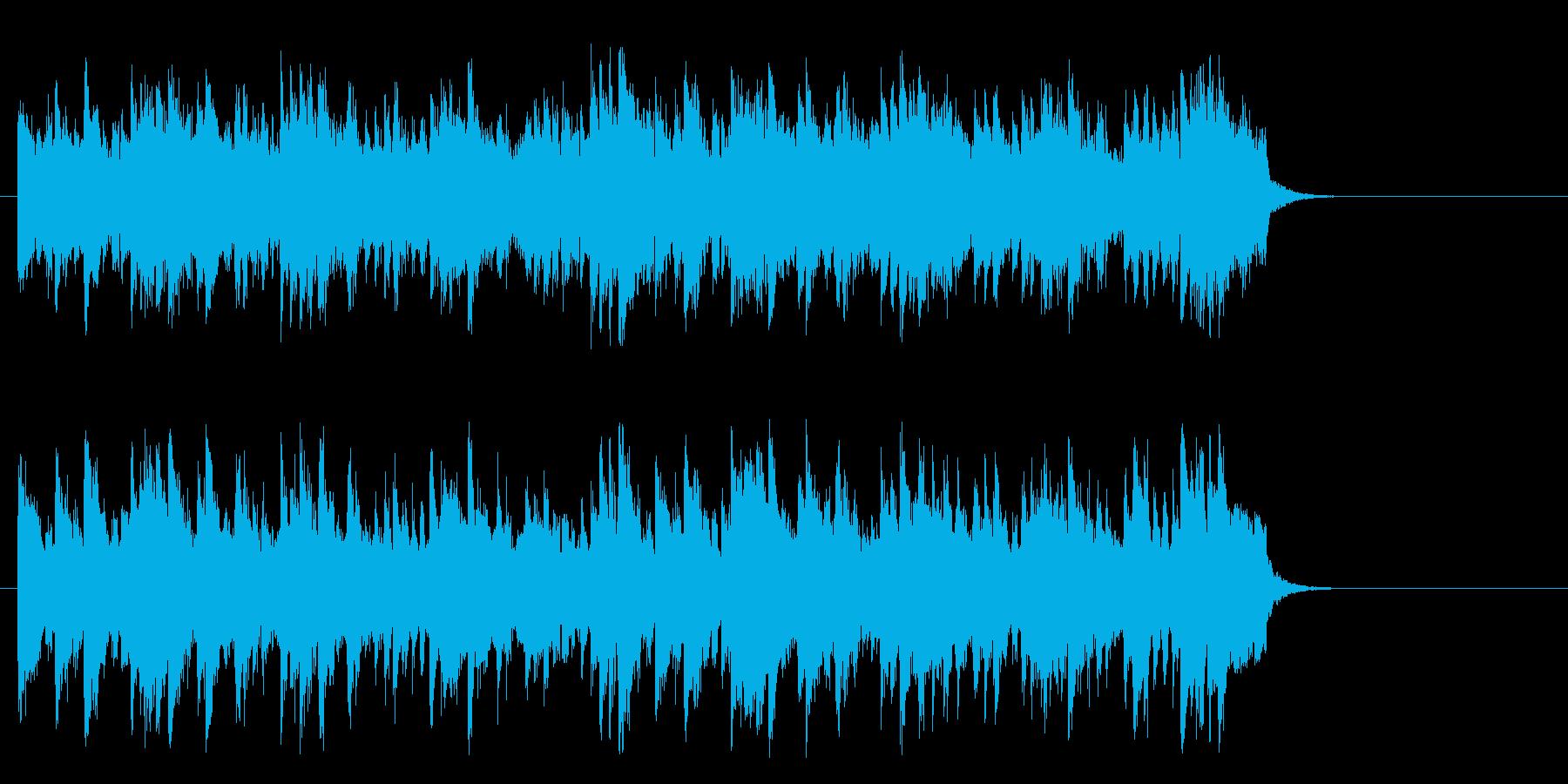 愛を語らうライトバラード(サビ)の再生済みの波形