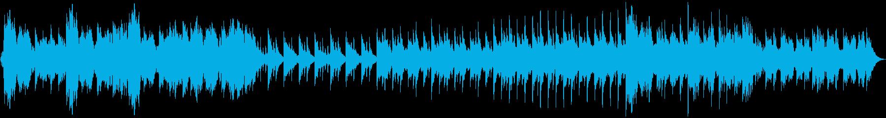 回想シーンなどに使えるBGM その2の再生済みの波形