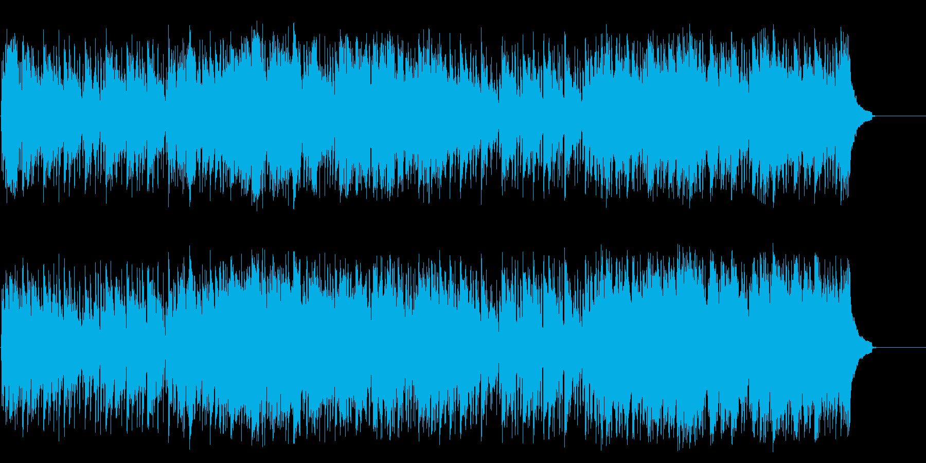 潮風も爽やかなポップ/フュージョンの再生済みの波形