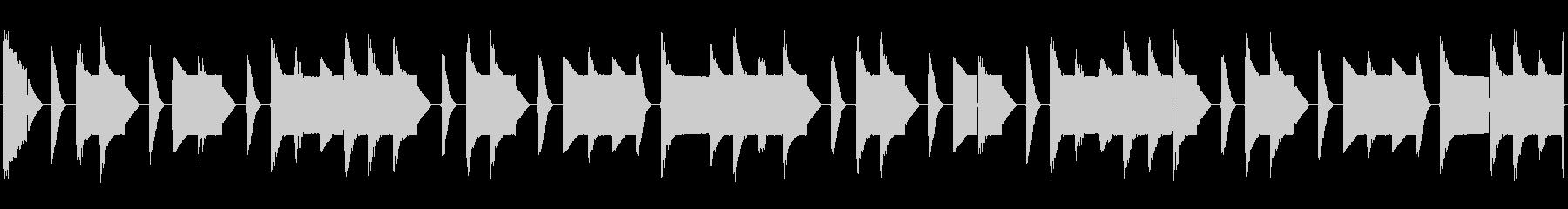 チップチューンの短いループ1の未再生の波形