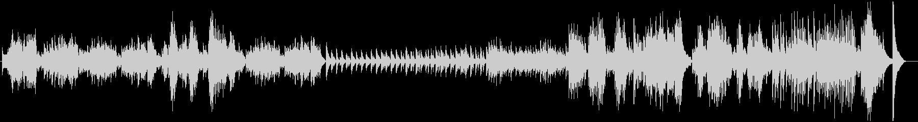 ショパンのノクターンのようなオリジナル曲の未再生の波形