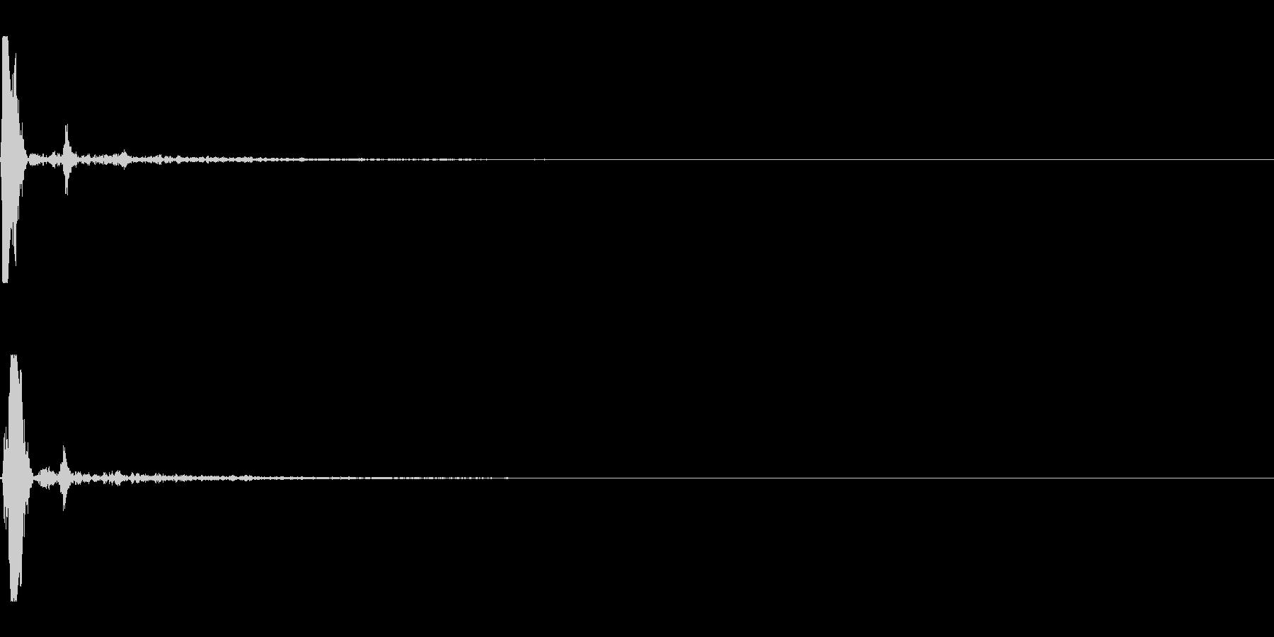 ポッ(タイトルメニュー_キャンセル03)の未再生の波形