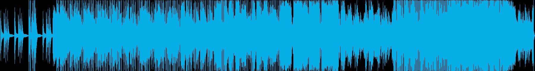 かっこいいオープニング的なエレクトロニカの再生済みの波形