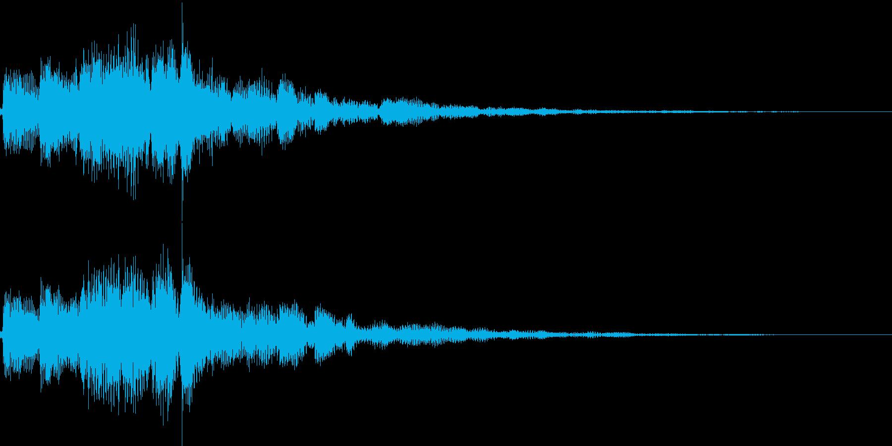 ピロロロン(決定、スワイプ、パスワード)の再生済みの波形
