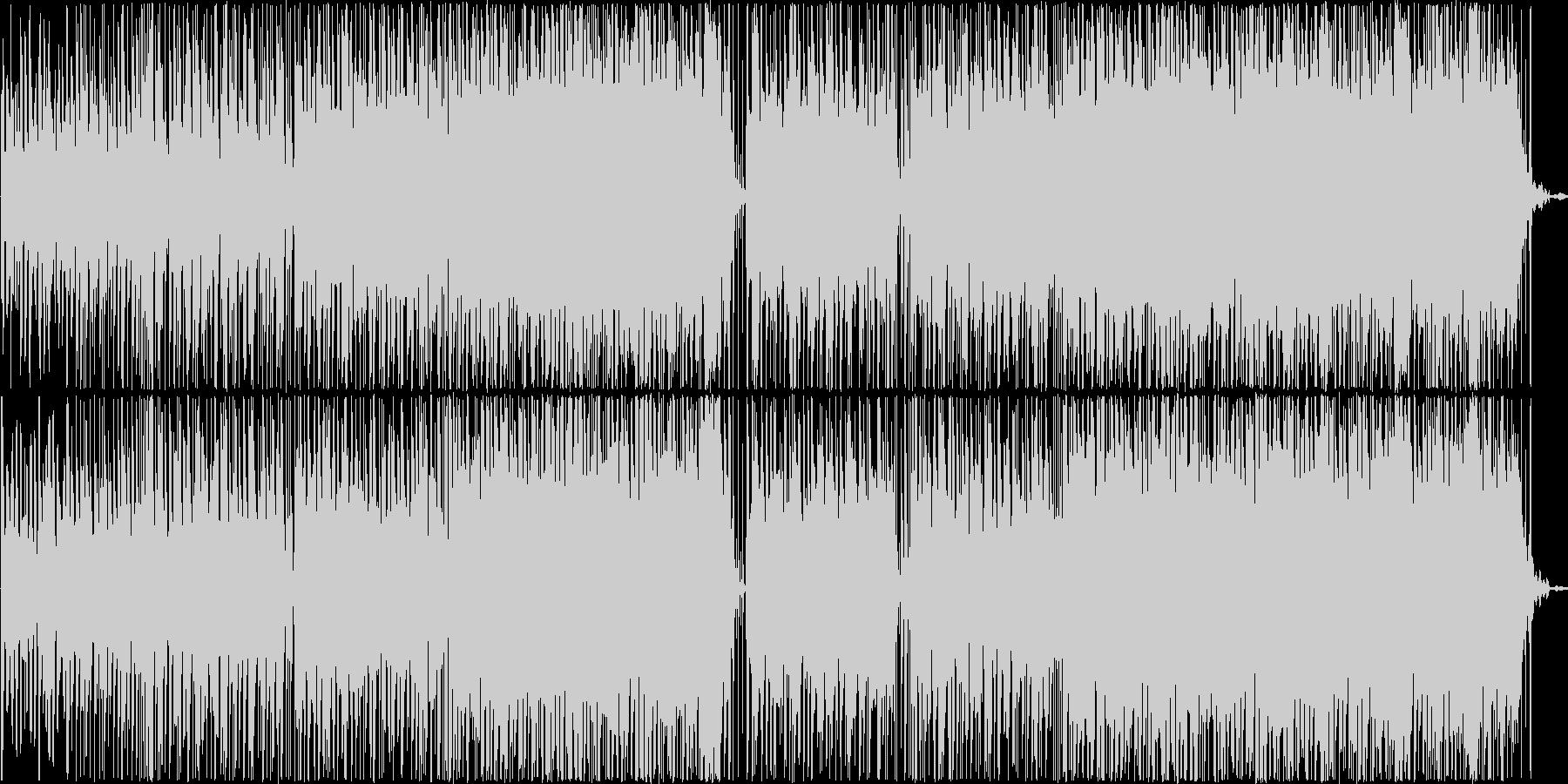 赤ちゃんやペットの動画BGMの未再生の波形
