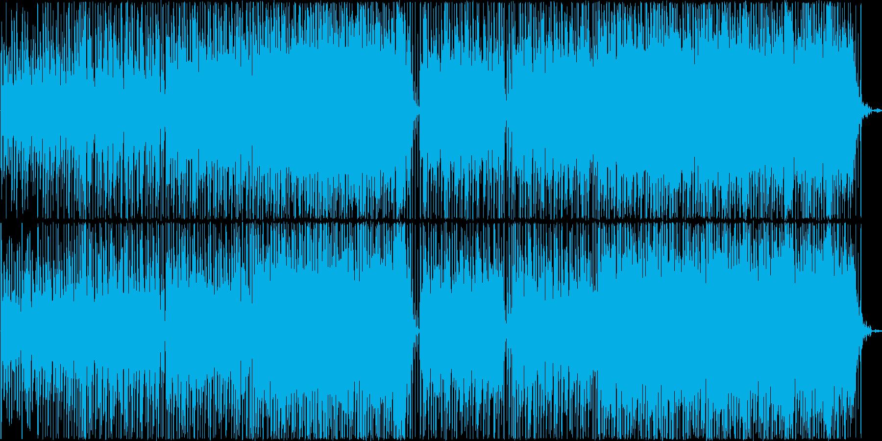 赤ちゃんやペットの動画BGMの再生済みの波形