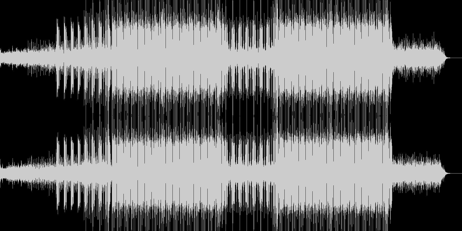 様々な映像などにピッタリのゆっくりとし…の未再生の波形