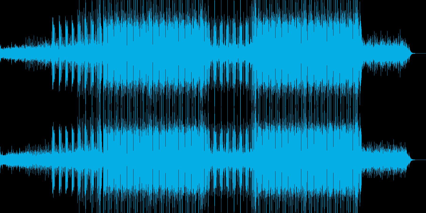 様々な映像などにピッタリのゆっくりとし…の再生済みの波形