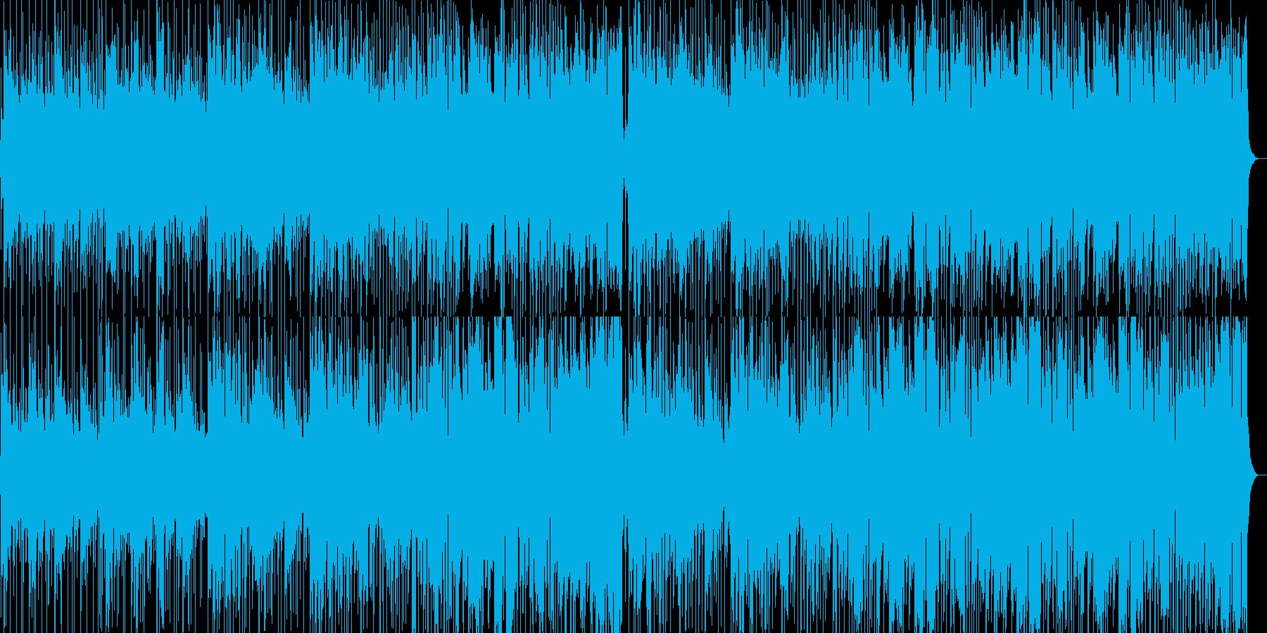 軽快なピアノがさわやかなフュージョンの再生済みの波形