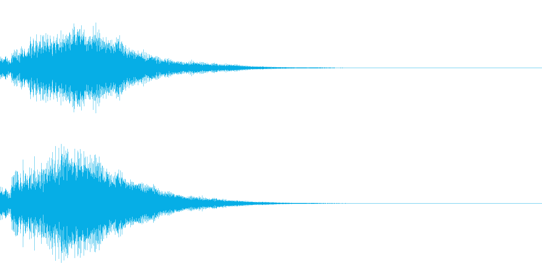 シンプルな決定音 ボタン音 正解音 18の再生済みの波形