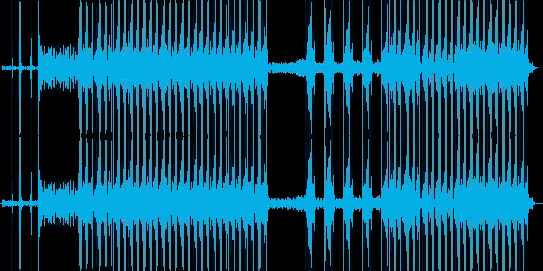 HEAVENの再生済みの波形