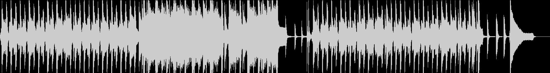リコーダーでシャッフルのほのぼのポップスの未再生の波形