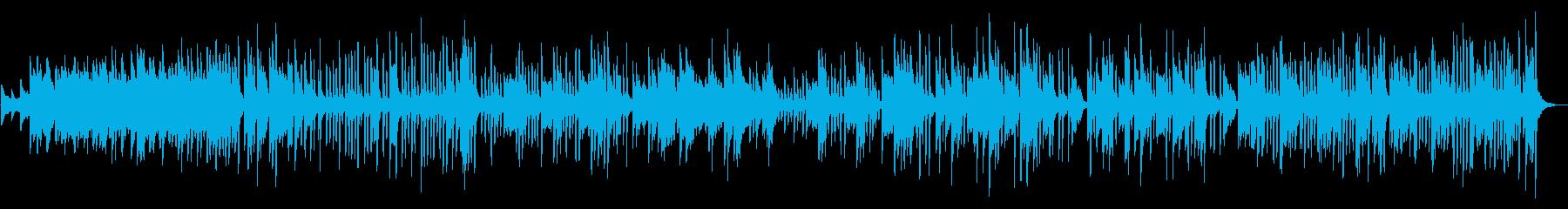 名曲「美しく青きドナウに」ピアノソロの再生済みの波形