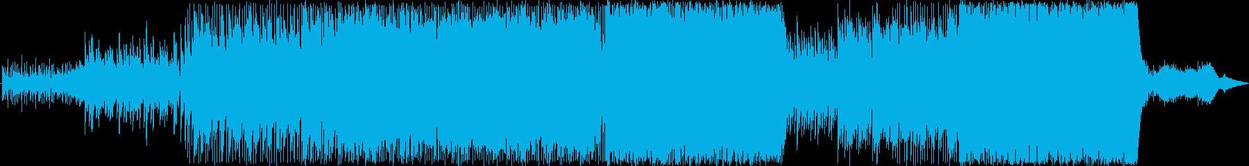 夜の海辺に似合う切ないBGMの再生済みの波形