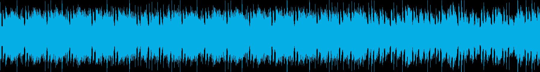 物悲しい民族調 FF風 ループの再生済みの波形