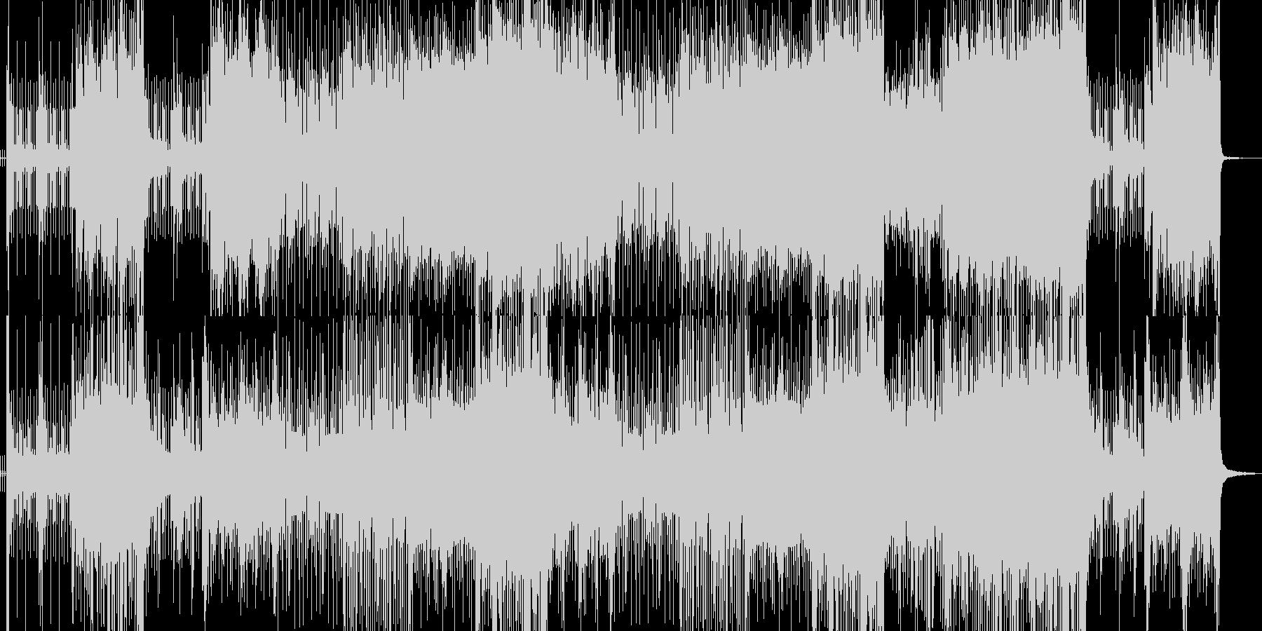 和太鼓と琴のUPテンポな和風ロックですの未再生の波形